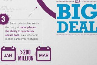 Infographic hadoop big data safenet