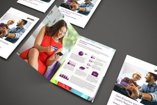 Gemalto research brochure design
