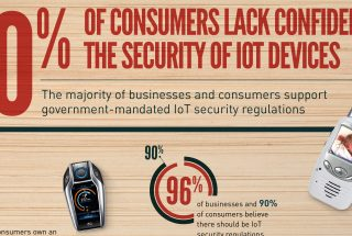 Infographic design for Gemalto on the IOT